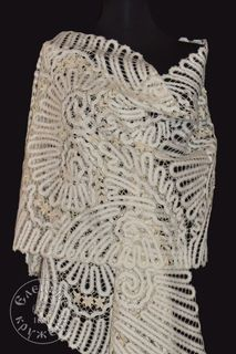 Scarf womens lace С1895