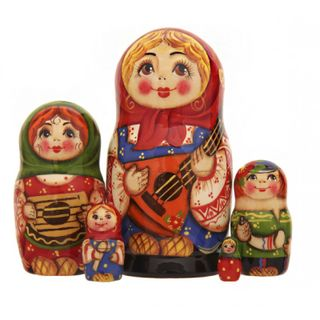 "Matryoshka ""Russian music"""