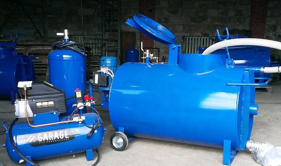 Agro-Stroy / Installation UM PB-300 (220 or 380) with built-in foam generator with / without compressor
