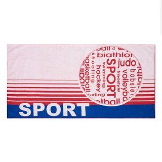 "Terry bath towel ""Sport mix"" size 70 * 140 jacquard"