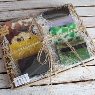 The Power of Nature - Men's Handmade Soap Set