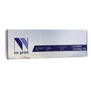 Laser cartridge NV PRINT (NV-718BK) for CANON LBP7200Cdn / MF8330Cdn / 8350Cdn, black, yield 3400 pages.