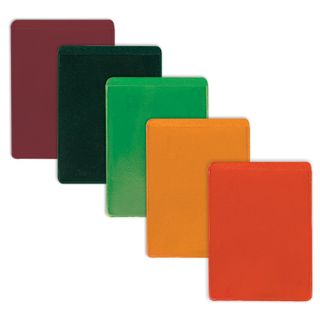Cover-pocket for travel documents, cards, badges, 92х69 mm, PVC, color assorted, DPS