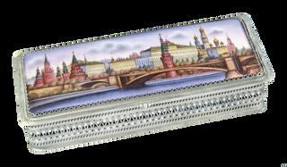 """Rostov enamel / Box """"Moscow Kremlin"""""""