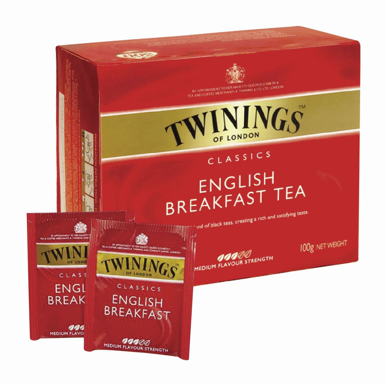 "TWININGS / Tea ""English Breakfast"" black, 50 sachets"