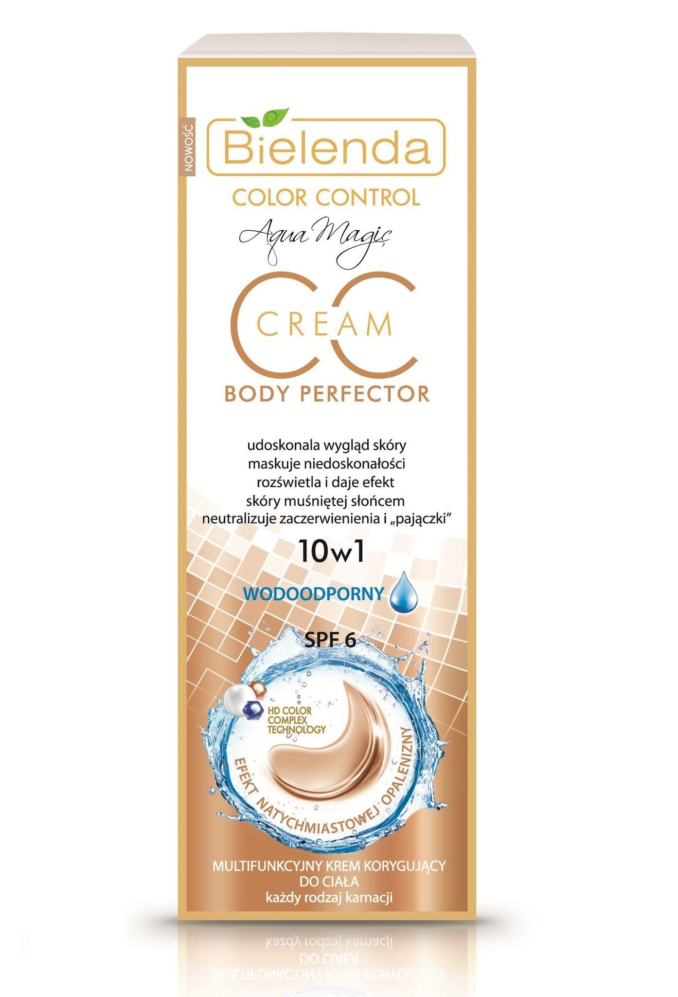 Multifunctional characterwise cream for body (water repellent) 10b1 , BIELENDA , 175ml