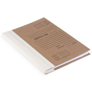 The archive folder for binding A4 (310х215 mm), 40 mm, without valve, Bindery cardboard/calico