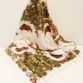 Silk scarf Khokhloma painting, white background - view 1