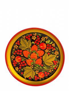 Khokhloma painting / Plate-panel 150x15 mm