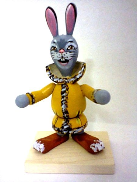 """Tver souvenirs / Fairy-tale characters """"Bouncer hare"""""""