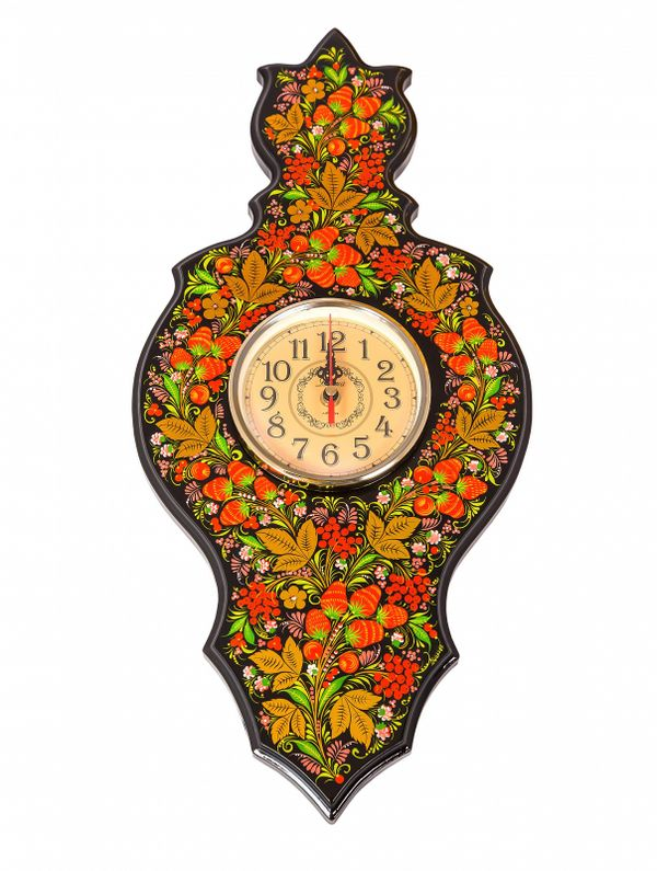 Panel clock 'Flower'