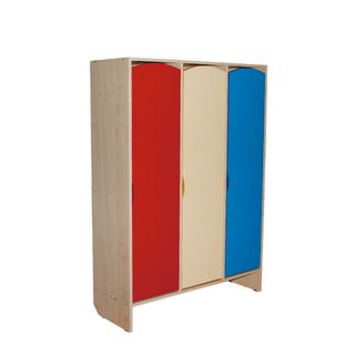 Wardrobe children's 2 sections, 1630x570x340 mm