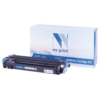 Toner cartridge NV PRINT (NV-Q6003A) for HP ColorLaserJet CM1015 / 2600, magenta, yield 2000 pages