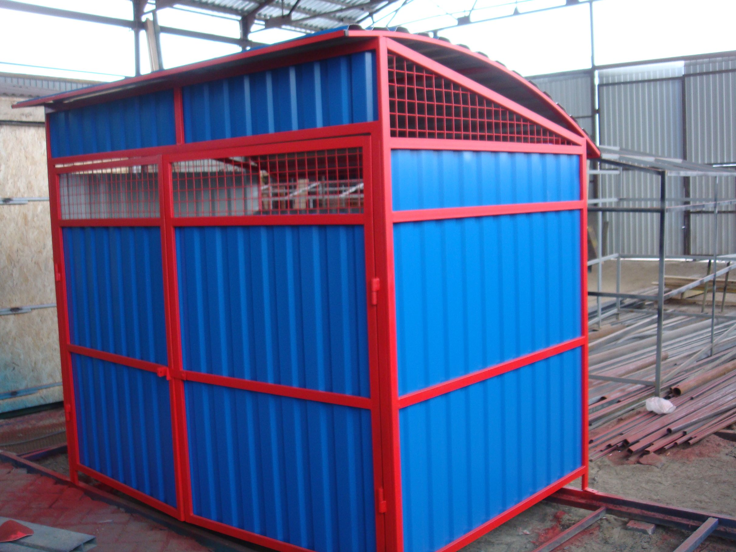 Container area for garbage.