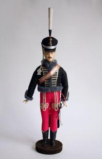 Irkutsk hussar regiment. 19th century. The military uniform. Doll gift