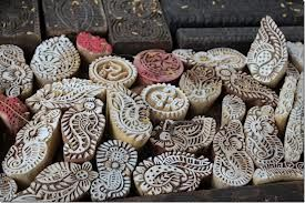 Wooden stamps for printing