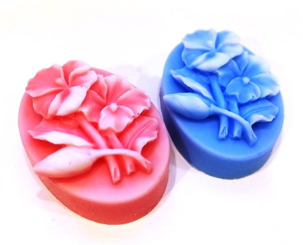 Handmade soap Flowers - mix of colors