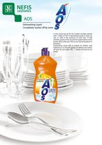 Dishwashing liquid AOS