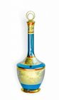 Cognac decanter with zirconia lid, exclusive souvenirs - view 1