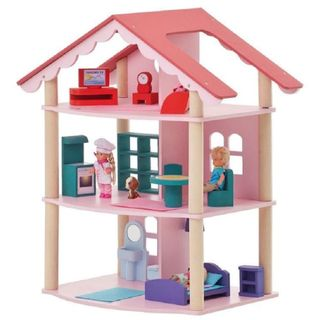 """Wooden doll house """"Rosa Khutor"""""""
