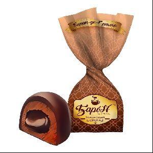 "Candy ""Baron de Grolė"" Bavarian chocolate / coffee latte"