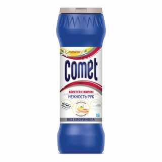 """Cleaning agent COMET """"Lemon"""" WITHOUT CHLORINOL powder 475 g"""
