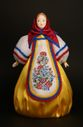 Doll gift porcelain. Matryoshka. Inspired by traditional Russian toys. - view 1