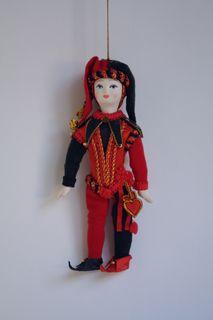 Doll Joker. Doll pendant