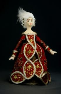 Doll gift porcelain. Princess.