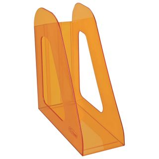 Tray vertical paper of STAMM Favorit (235х240 mm), width 90 mm, tinted orange