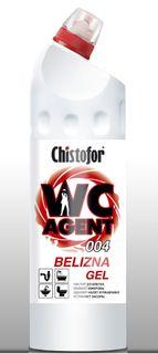 "Cleaner for plumbing CHISTOFOR ""WC Agent 004 BELIZNA GEL"" (VS agent 004 whiteness gel)"