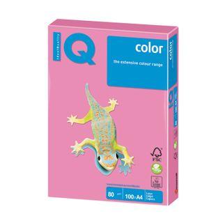 IQ COLOR / A4 paper, 80 g / m2, 100 sheets, neon, pink