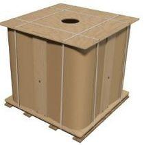 The packaged bitumen of BND 50/70, 60/70, 70/100, 60/90, 90/130 in clovertrains of 1000 kg