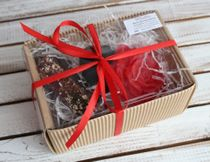 Damask beauty - handmade soap gift set