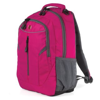 Backpack WENGER universal, pink, reflective elements, 22 l, 32х15х45 cm