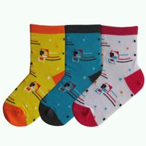 Children's socks 'Quadro'