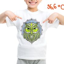 Children's t-shirt with special effects OWL