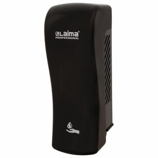 Dispenser for liquid soap LAIMA PROFESSIONAL, ORIGINAL, LIQUID, 0,8 l, black, ABS plastic