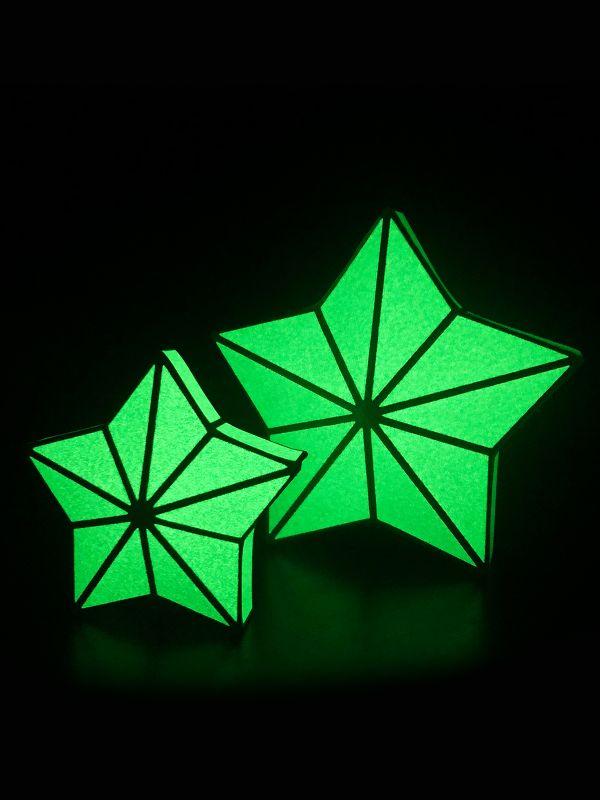 3D cardboard construction set Stars
