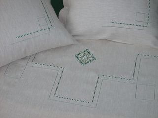 LINEN SET FROM FLAX WITH EMBROIDERY EMBROIDERY