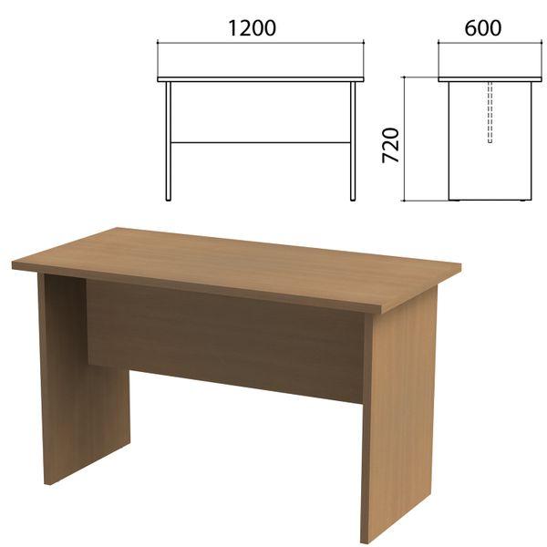 Etud table, 1200 x600 x720 mm, Ontario nut