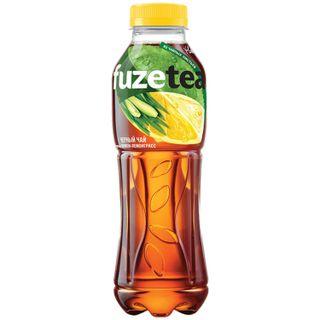 FUZE TEA / Cold black lemon tea - lemongrass, 0.5 l plastic bottle