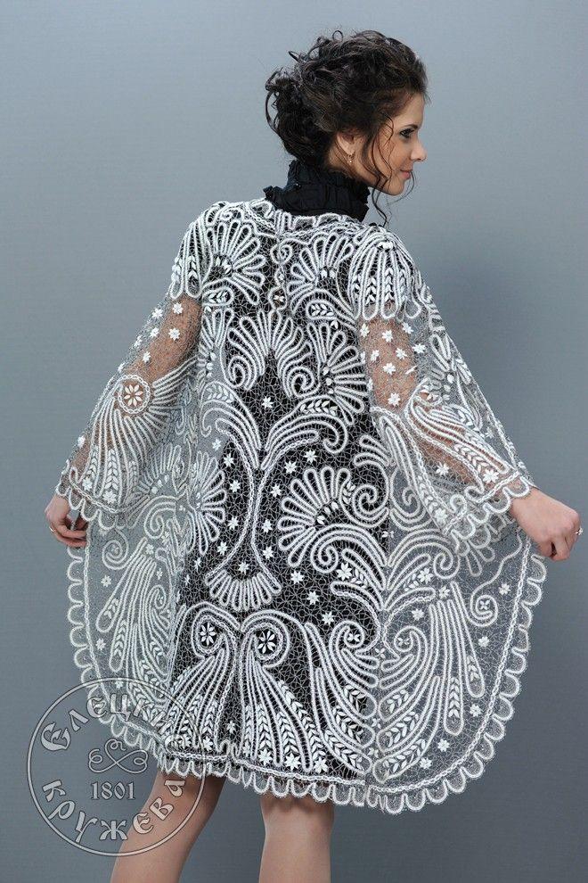 Yelets lace / Women's lace coat С1762