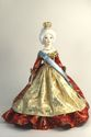 Doll gift porcelain. Imperial ceremonial vestments. The mid-18th century. - view 1