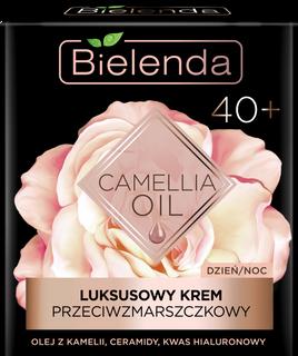 Exclusive cream-concentrate anti-wrinkle 40+ day/night BIELENDA CAMELLIA OIL , 50ml