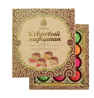 Assorted cedar marzipan 170 g