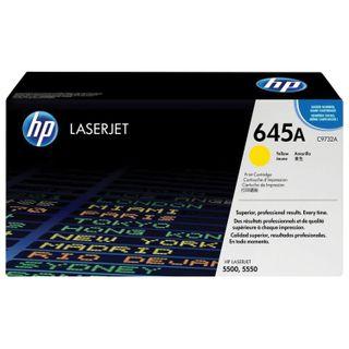 HP Color LaserJet 5500/5550 Yellow Original Toner Cartridge (Yield 12,000 pages)