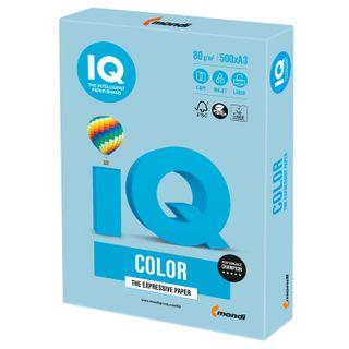 Paper I'color BIG FORMAT (297 x420 mm), A3, 80 g/m2, 500 sheets, pastel, blue ice