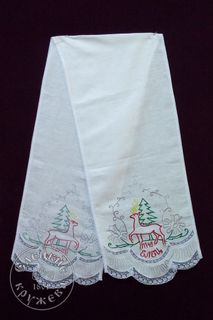 """Towel linen """"coat of Arms of Yelets"""""""