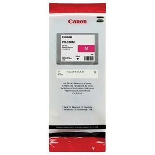 Inkjet cartridge CANON (PFI-320M) for imagePROGRAF TM-200/205/300/305, magenta, 300 ml, original